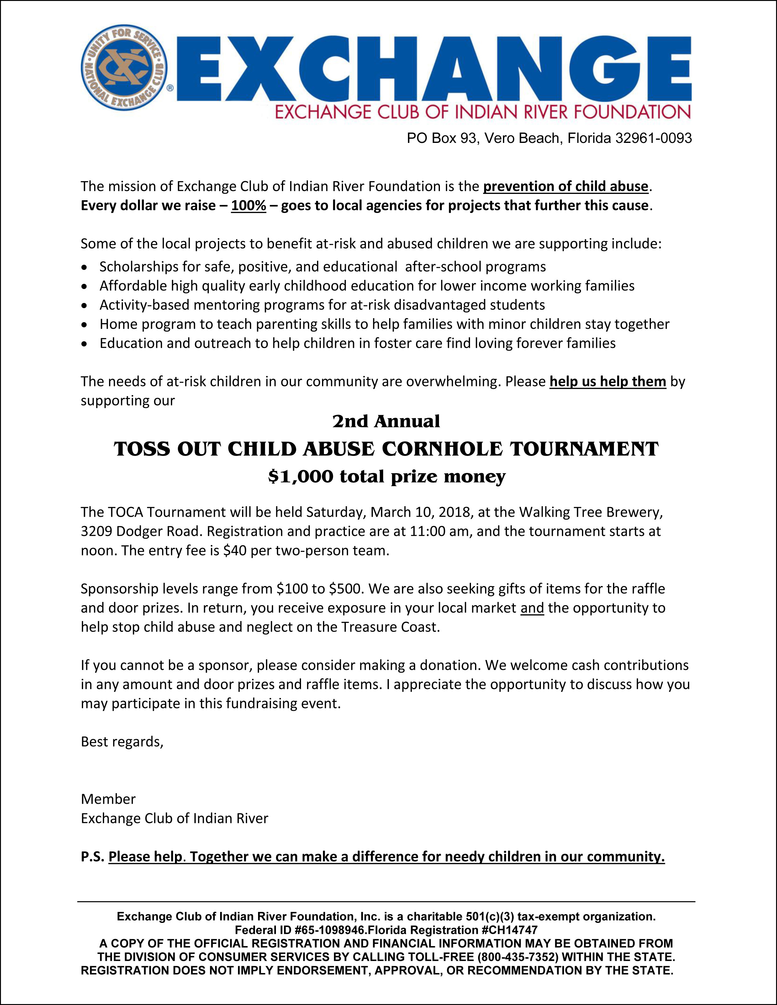 recommendation letter for foster parent